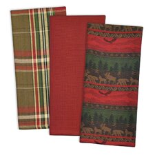 3 Piece Wilderness Dishtowel Set