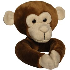 Plush Monkey Curtain Tieback