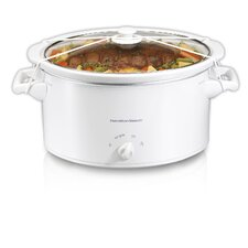 8 Quart Oval Slow Cooker