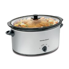 7 Qt. Slow Cooker in Stainless Steel