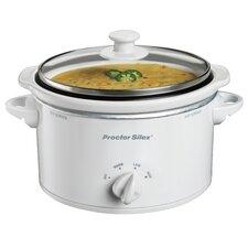 1.5-Quart Portable Round Slow Cooker