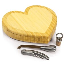 Heart Cutting Cheese Tray