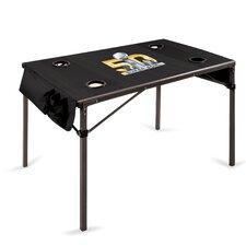 Super Bowl 50 Picnic Table