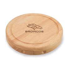 NFL Brie Engraved Cheese Tray