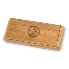 NFL Elan Bamboo Engraved Corkscrew in a Box