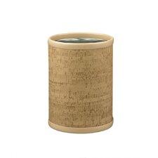 """Natural Cork 10"""" Round Waste Basket"""