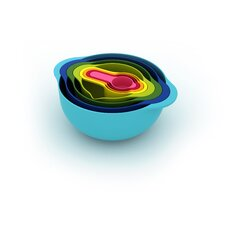 8 Piece Nesting Bowl Set in Multicolor
