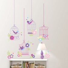 Wall Art Kit Chirping The Day Away Wall Decal