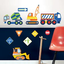 Wall Art Kit Construction Zone Wall Decal