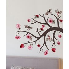 Home Decor Line Blossom Branch Wall Decal