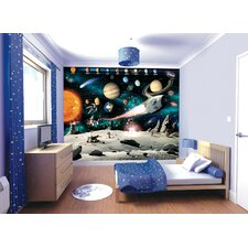 Walltastic Wall Art Space Adventure Wall Mural
