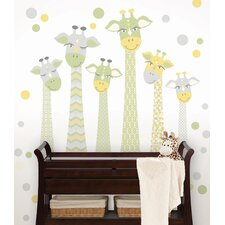 WallPops Meet The Fitzgeralds Large Wall Decal
