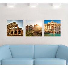Home Decor Line Rome Panoramic Wall Decal