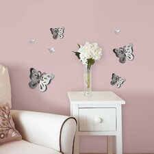 WallPops 3D Butterflies Mirror Wall Decal