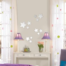 WallPops Stars Mirror Wall Decal