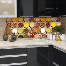 Spices Kitchen Wall Decal