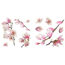 Magnolia 11 Piece  Window Decal Set