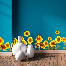 Sunflowers Border Wall Decal