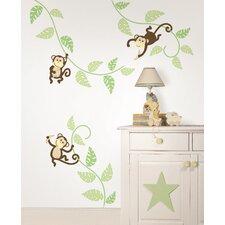 Art Kit Monkeying Around Wall Decal