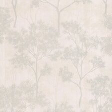 "Joseph Abboud Designed  33' x 20.5"" Floral Embossed Wallpaper"