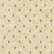 """Northwoods Small-Scale Pinecone 33' x 20.5"""" Floral and Botanical Embossed Wallpaper"""