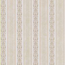 "Satin Rose 33' x 20.5"" Damask Stripe Embossed Wallpaper"