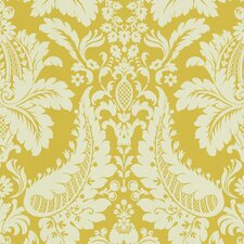 "Echo Design 13.5' x 27"" Dessner Damask Embossed Wallpaper"