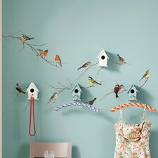 Euro Living Birds Wall Decal