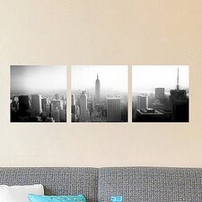 Euro New York Panoramic Wall Decal