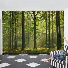 Ideal Decor Autumn Forest Wall Mural