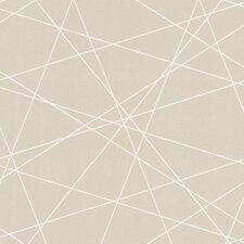"Elements Magritte Criss Cross 33' x 20.5"" Geometric Embossed Wallpaper"