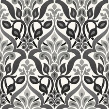 """Simple Space II FusionOmbre 33' x 20.5"""" Damask Embossed Wallpaper"""