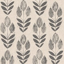 "Simple Space II Scandinavian Block Tulip 33' x 20.5"" Floral Embossed Wallpaper"