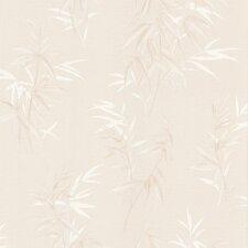 "Kitchen & Bath Resource III Oates 33' x 20.5"" Leaf Floral Embossed Wallpaper"