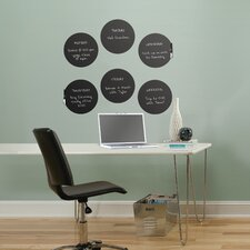 WallPops Dry Erase Dots Board Wall Decal Set