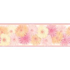 "Hide and Seek Becca Daisy Chain 15' x 8"" Border Wallpaper"