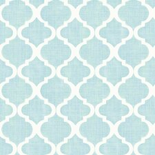 "Meadowlark Tabitha Watercolor Quatrefoil 33' x 20.5"" Wallpaper"