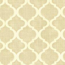 """Alhambra Palace Quatrefoil 33' x 20.5"""" Wallpaper"""