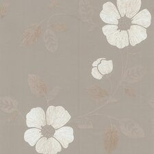 """Kitchen, Bed And Bath Resource IV 33' x 20.5"""" Maddison French Floral Wallpaper"""