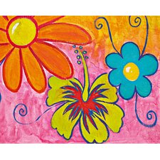 Ideal Decor Spring Flowers Wall Mural