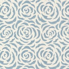 "Naturale Rosette Rose 33' x 20.5"" Floral and Botanical Embossed Wallpaper"