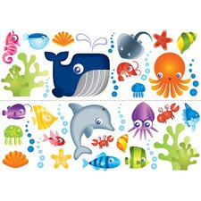 Euro Under the Sea Wall Decal