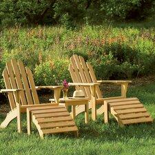 5 Piece Adirondack Seating Group