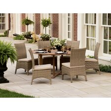 Torbay 7 Piece Dining Set with Cushions