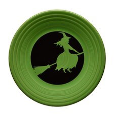 "9"" Halloween Witch Luncheon Plate"