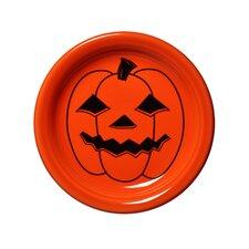 """6.63"""" Halloween Spooky Pumpkin Appetizer Plate"""