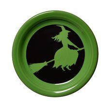 """6.63"""" Halloween Witch Appetizer Plate"""