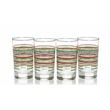 Stripes 7.5 Oz. Juice Glass (Set of 4)