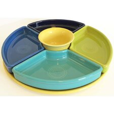 6 Piece Bowl & Tray Set