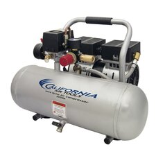 2 Gallon Ultra Quiet/Oil-Free 0.5 Hp Air Compressor